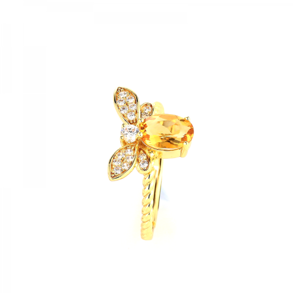 Beesweet Queen Bee Ring