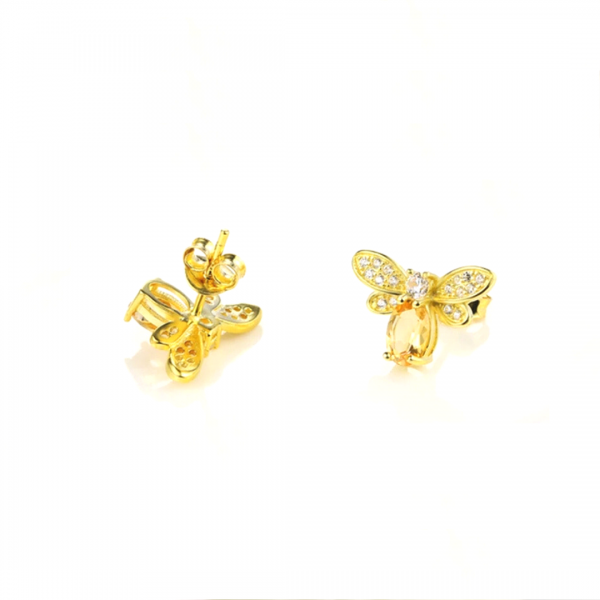 Queen Bee Earrings Beesweet